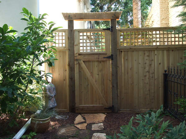 Privacy fence gate designs fence gate - Japanese garden gates ideas ...
